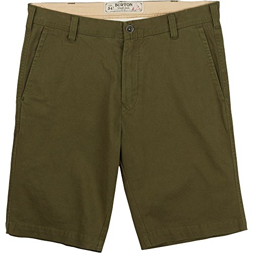 Burton Men's Sawyer Shorts, Size 32, Olive Night ()