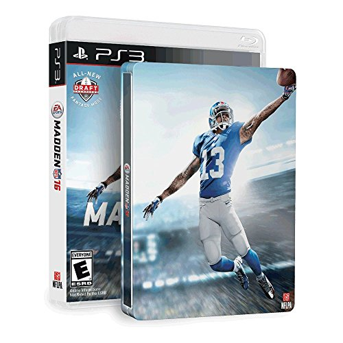 Madden NFL 16 & SteelBook (Amazon Exclusive) - PlayStation 3