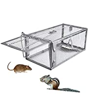 Mouse Trap,Chipmunk Trap Humane Live Rat Trap Cage for Mice and Other Small Rodent Animals