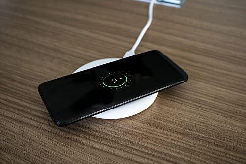 proporta® Cargador Inalámbrico per Apple Galaxy S8, Blanco ...