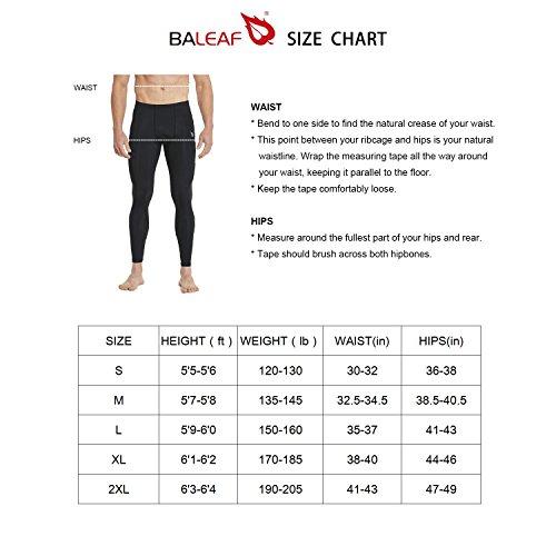 Baleaf Men's Quick Dry UPF 50+ Cargo Camo Pants Army Green 34W by Baleaf (Image #7)