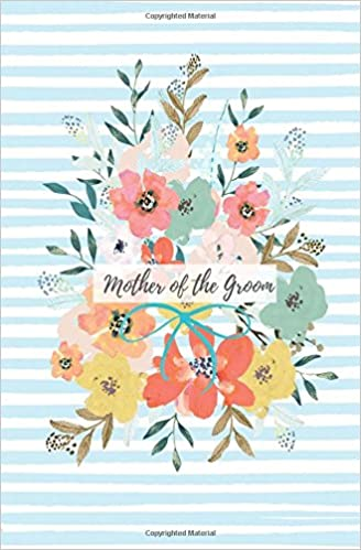 mother of the groom bridal journal floral wedding planner small blank lined wedding notebook wedding shower gift or engagement gift from the bride
