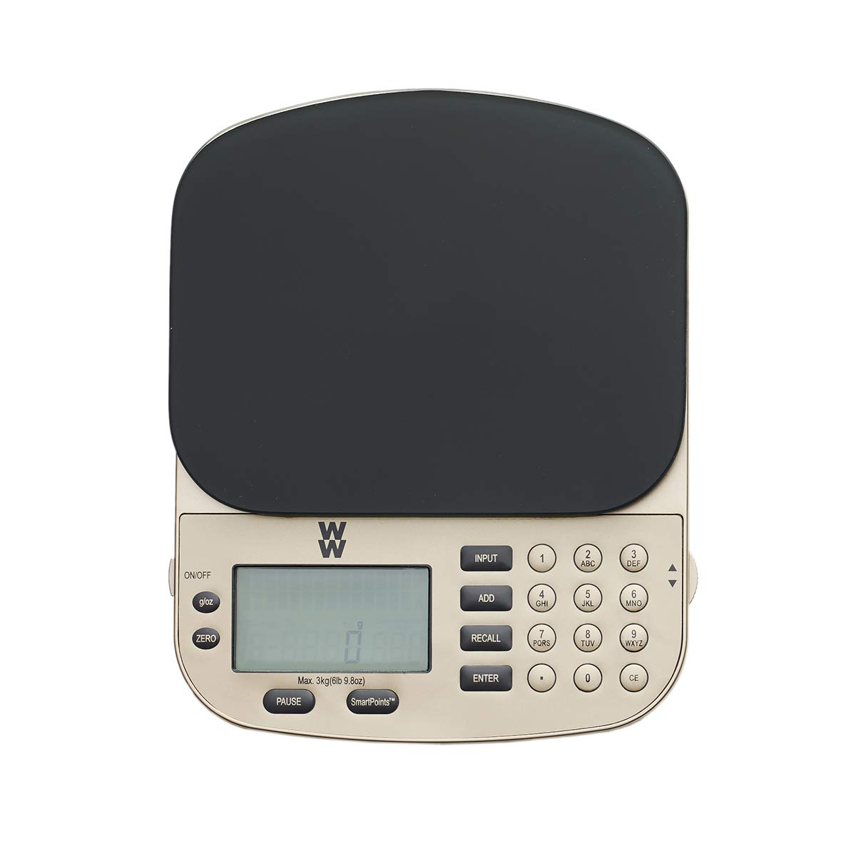 WW SmartPoints Digital Food Scale - Kitchen Scale Measures with Ounces and Grams - Weight Watchers Reimagined