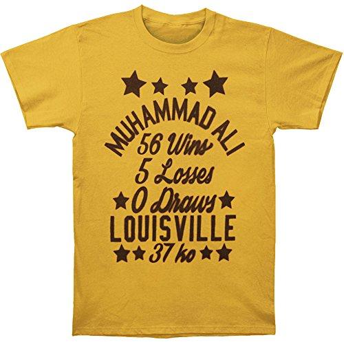 Muhammad Ali Men's Stars T-shirt Large Ginger ()