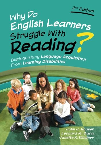 Why Do English Learners Struggle With Reading?: Distinguishing Language Acquisition From Learning ()