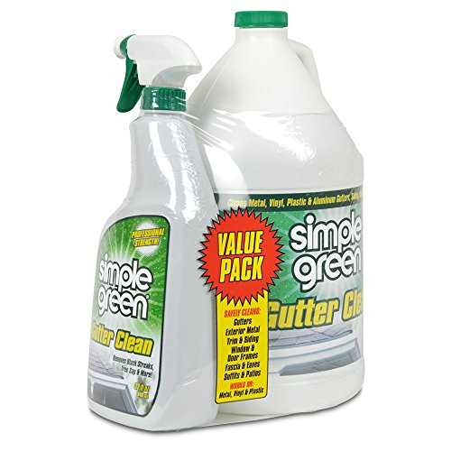 SIMPLE GREEN Gutter Cleaner 1 gal Jug with 32 oz Trigger
