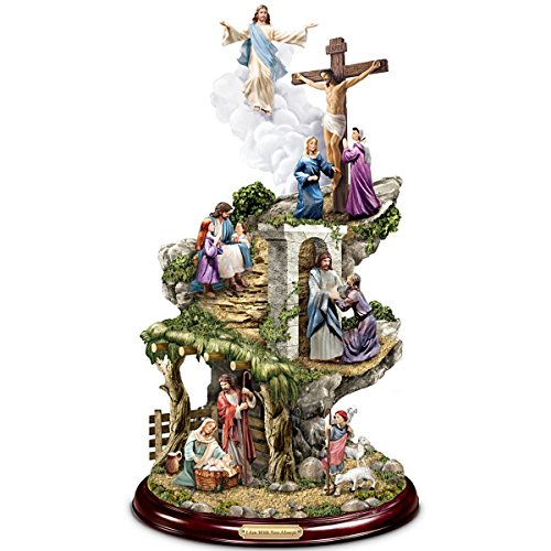 - Thomas Kinkade Life Of Christ Sculpture by The Bradford Exchange