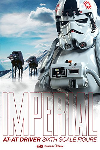 Sideshow Star Wars Episode V: The Empire Strikes Back AT-AT Driver 1/6 Scale 12