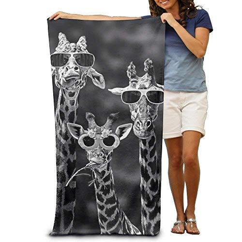 - Sunglass Giraffes,100% Polyester Chair (31