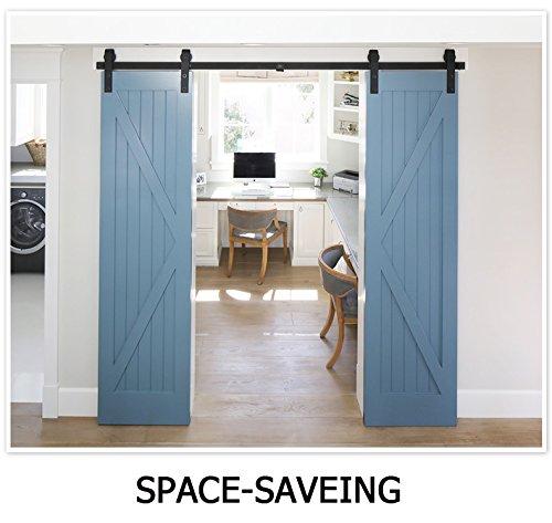6 panel door pre hung - 8