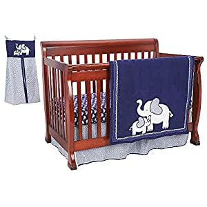 This Four-Piece Crib Bumper from Koala Baby is made of a super-soft velboa that feels wonderful against Baby's skin. Ties affix it to the crib sides and afford.