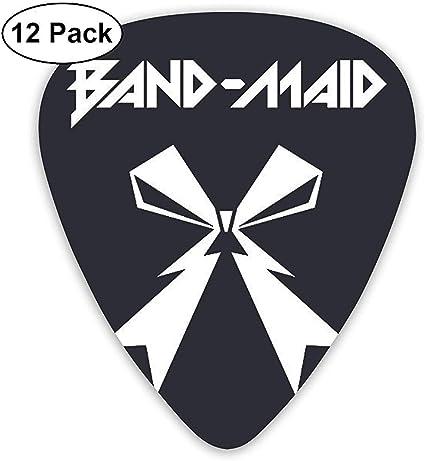Band Maid World Domination Tour Púas de guitarra para guitarra ...