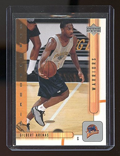 2001-02 Upper Deck #202 Gilbert Arenas Golden State Warriors Rookie Card- Mint Condition Ships in New Holder