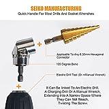 Screwdriver Bit Sets + 90° Drill Bit