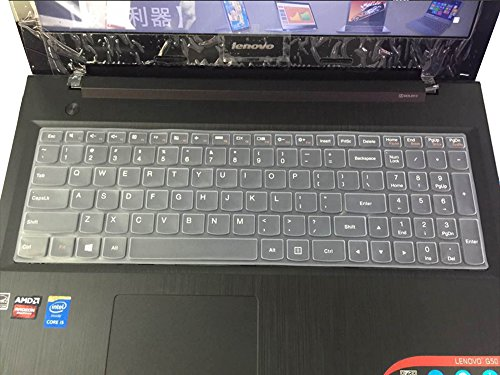 """UPC 602766002467, CaseBuy Ultra Thin Soft Silicone Gel Keyboard Protector Skin Cover for Lenovo ideapad 300 15"""", 500 15"""", 500S 15"""", Y700 15"""" & 17"""", Z51, Flex 3 15"""" Laptop - Clear"""
