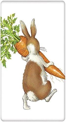 Carrots Bunny Dangle Leg Towel