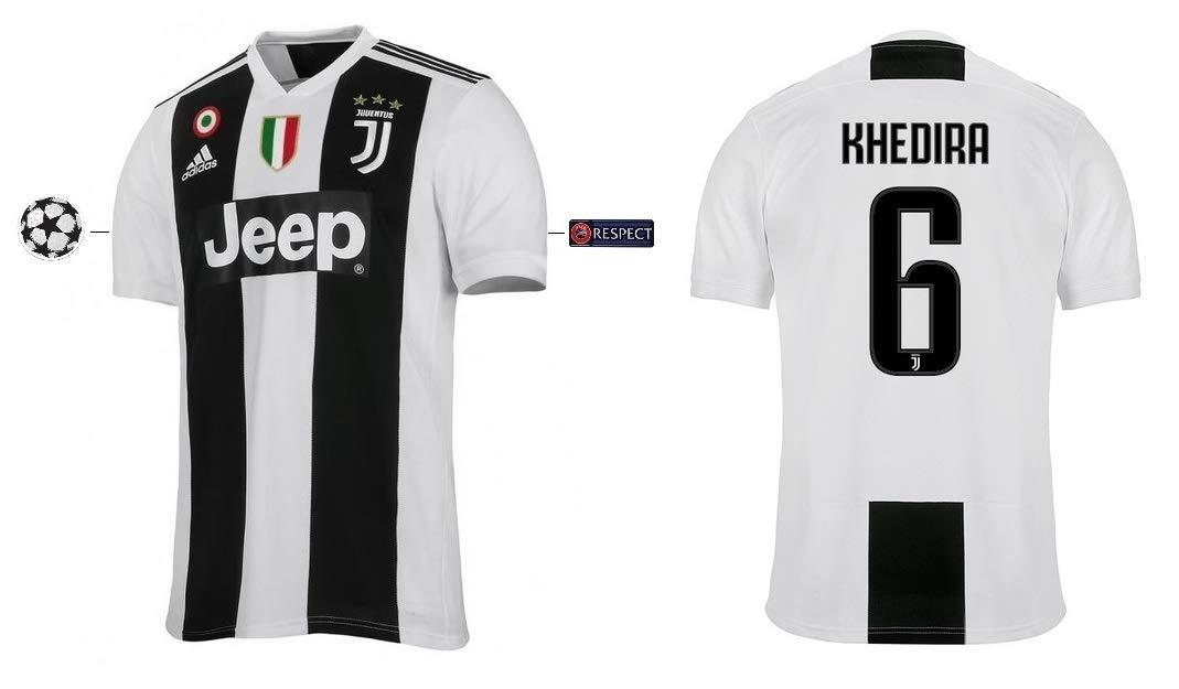 Juventus Turin Trikot Kinder 2018-2019 Home UCL - Khedira 6