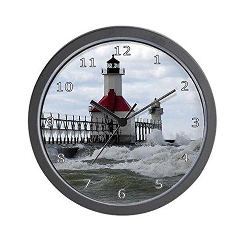 "CafePress - St. Joseph Lighthouse Wall Clock - Unique Decorative 10"" Wall Clock"