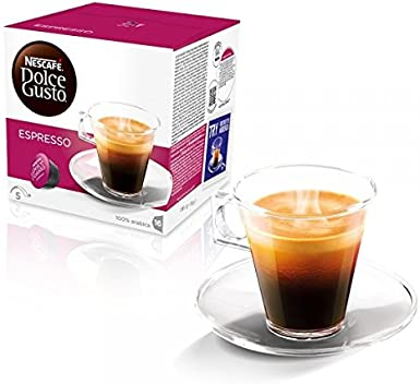 NESCAFÉ Dolce Gusto Cápsulas de Café Espresso - Pack de 3 x 16 ...