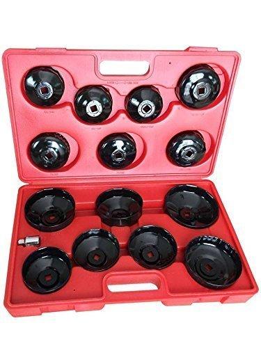 Scatola 14 campane chiavi chiave filtro olio autre