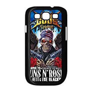 Samsung Galaxy S3 I9300 Phone Case for Classic Band GUNS N' ROSES theme pattern design GCBGNRS908128