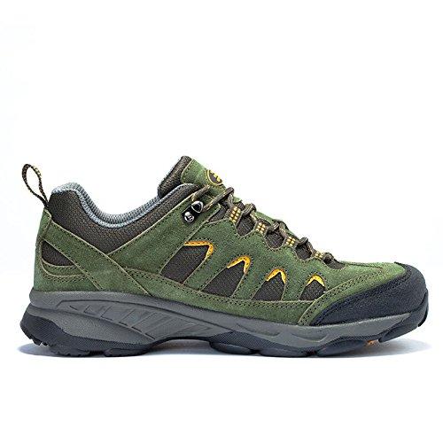 De Eerste Outdoor Heren Ademende Wandelschoen Trail Sneaker Klimberg Outdoor Sportschoenen Legergroen