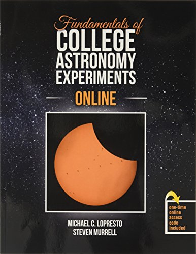 Fundamentals of College Astronomy Experiments Online