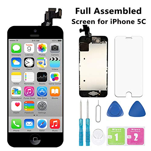 Screen Replacement for iPhone 5C Black 4