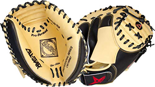 All-Star Pro-Advanced 33.5 Inch CM3100SBT Baseball Catcher's Mitt ()