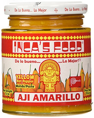 Inca's Food Aji Amarillo Paste - Hot Yellow Pepper Paste, 7.5 Oz Jar - Product of Peru (Best Chili Restaurants In Usa)