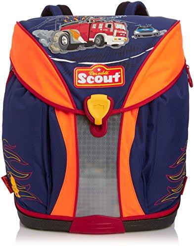 Scout Schulranzen-Set Basic Nano Set 1 5 tlg Feuerwehr 36 cm Blau 71500796100