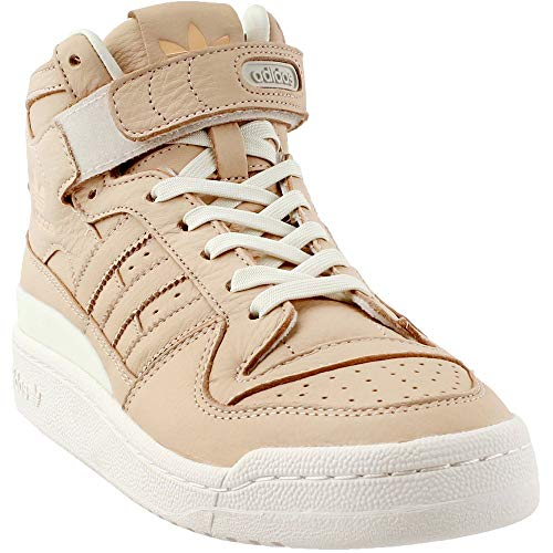 (adidas Originals Men's Forum MID Refined Fashion Sneaker, Supplier Colour/Chalk, 9 M)