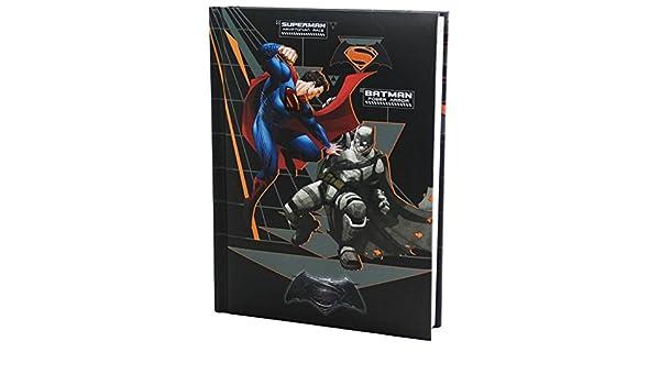 Dc Comics Batman V Superman Agenda Escolar Diario 10 Meses ...