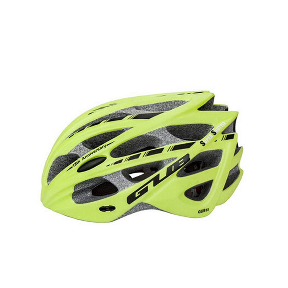 GLEI-TK Erwachsene Bike-Helm 30 Vents Impact Resistant, Light Weight, Adjustable Fit EPS, PC Sports Road Cycling Recreational Cycling Cycling Bike