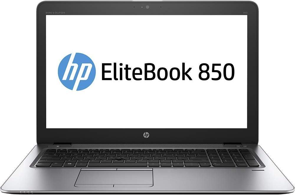 HP Elitebook 850 G3 Notebook PC (V1H18UT#ABA) Intel i5-6200U, 8GB RAM, 256GB SSD, 15.6-in FHD LED backlit, Win10 Pro64 (Renewed)