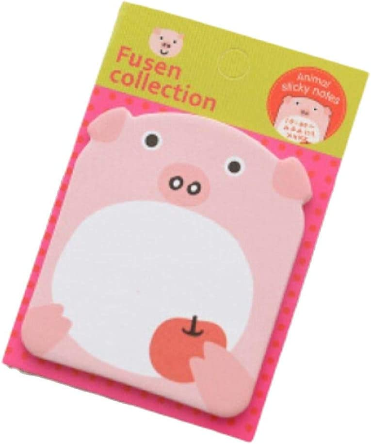 note pads school supplies stationary memo pads, Sticky notes scrapbooking cute animals