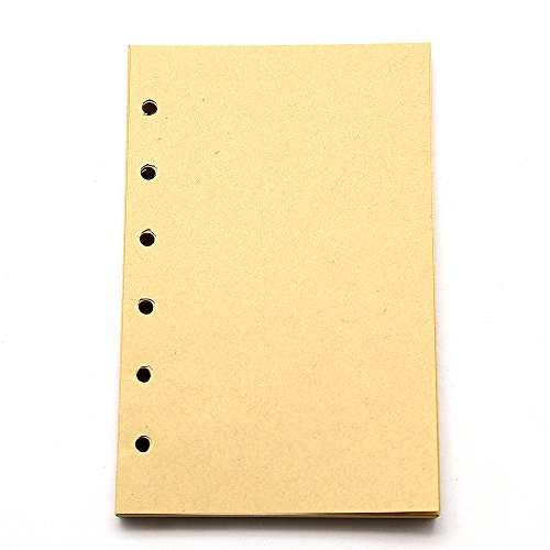 ge Diary Notebook Refillable Paper (Vintage Filler)