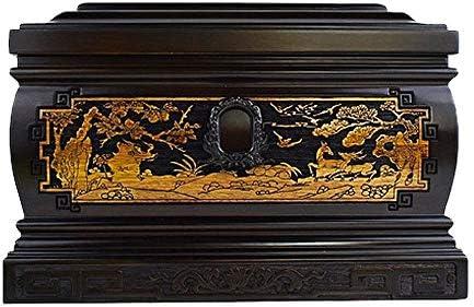 灰大人の骨壷 ヒト灰のための木製壺 - Soulmatesは永遠にともに360ポンド(13.4x9x9インチ)まで大人の残骸に適合します BUYT