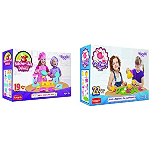 Giggles Kitchen Set Deluxe +...