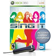 Disney Sing It Bundle with Microphone -Xbox 360