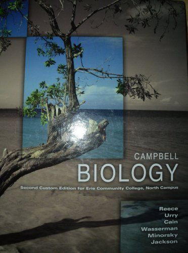 Campbell Biology Taken From 9th Edition, Second Custom Edition for Erie Community College