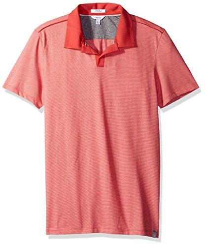 Calvin Klein Men's Liquid Touch Polo Shirt, Phoenix Sun, XX-Large ()