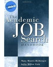 Academic Job Search Handbook3rd Ed.