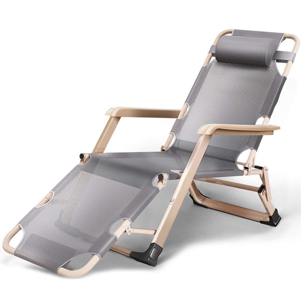 レジャーシート カジュアルな折りたたみ式の通気性のランチブレークラウンジチェアシングルシンプルな寝心地ベッド折り畳み式ベッドサイズ:178 * 67 * 30センチメートル ラウンジチェア (色 : B) B07Q4RXRKN A  A