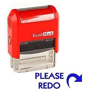 Teacher Stamp - PLEASE REDO