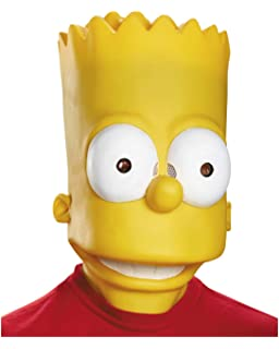 máscara de Bart Simpson