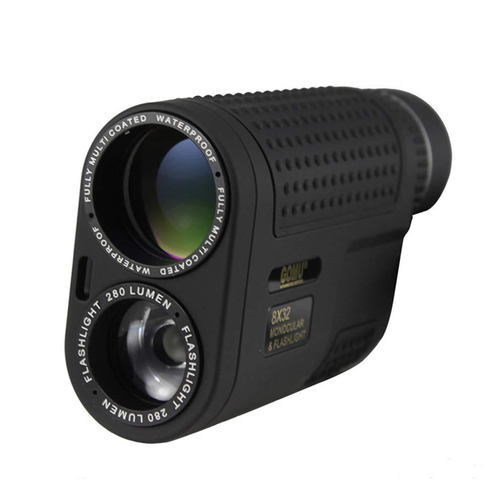 ZYSMC Multifunktionsteleskop, 8X32 High-Definition Mit Taschenlampe, Nachtsicht-Dual-Einsatz, Outdoor-Handheld Tragbar