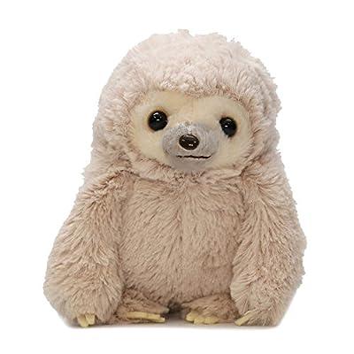 Amuse Sloth Plush Namakemono Mikke Nakamatachi Mikke (Brown) - Sloth Plush 5.1&Quot; Height - Authentic Kawaii From Japan - Amuse