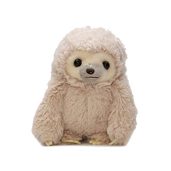 Amuse Sloth Plush Namakemono Mikke Nakamatachi Mikke (Brown) - Sloth Plush 5.1&Quot; Height - Authentic Kawaii From Japan -