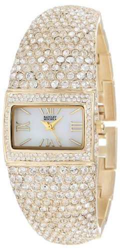 badgley-mischka-womens-ba-1154mpgb-swarovski-crystal-covered-gold-tone-bangle-watch